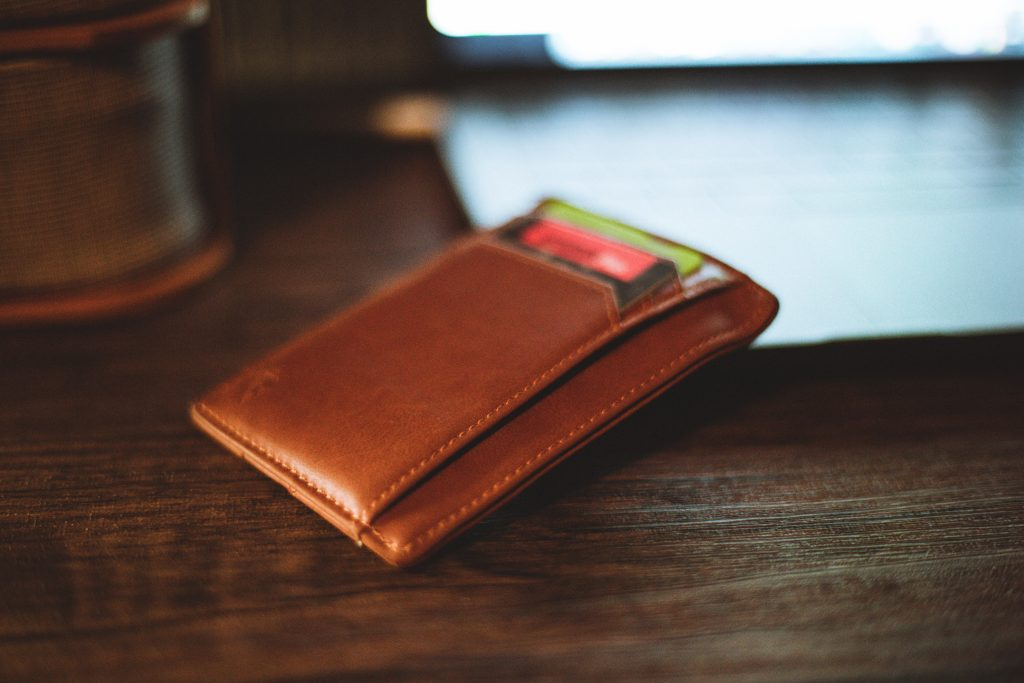 Photo of a Wallet with credit cards