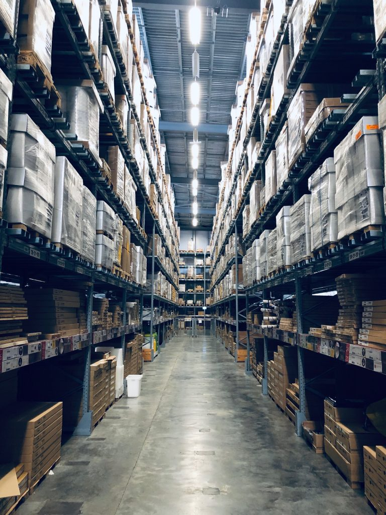 Photo of a warehouse, which can be your last resort to make money during the pandemic