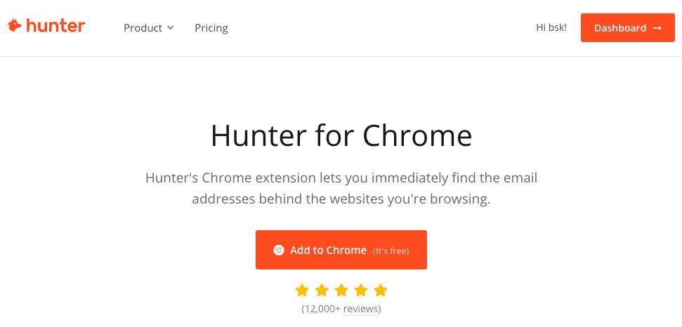 Hunter plugin homepage