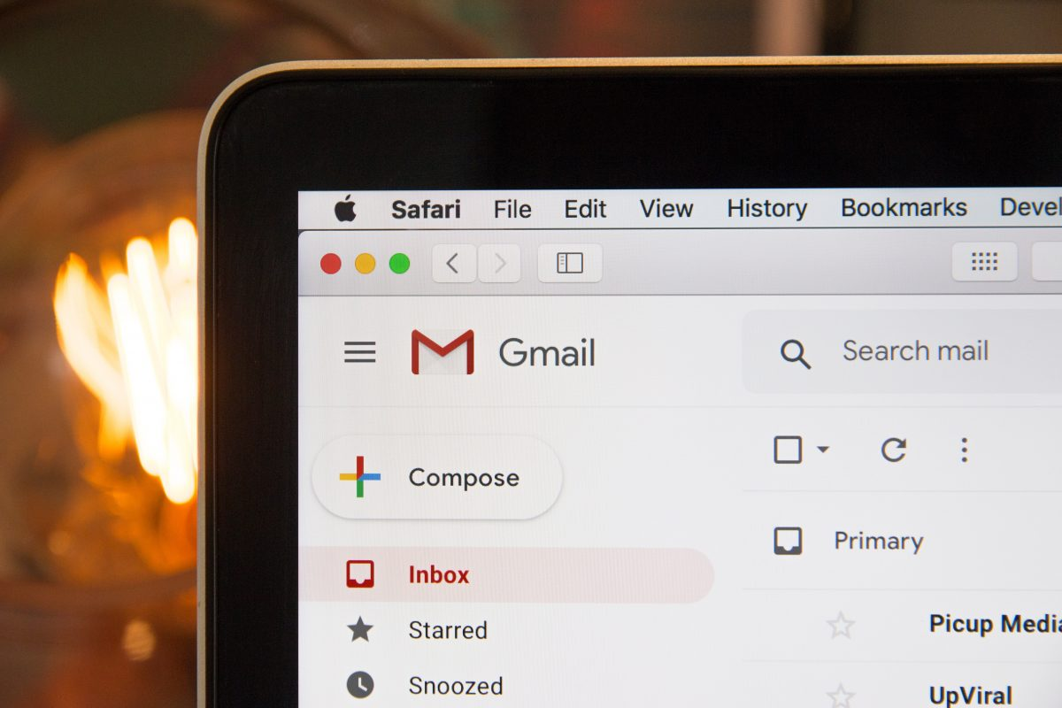 Photo of a Gmail inbox by Stephen Phillips