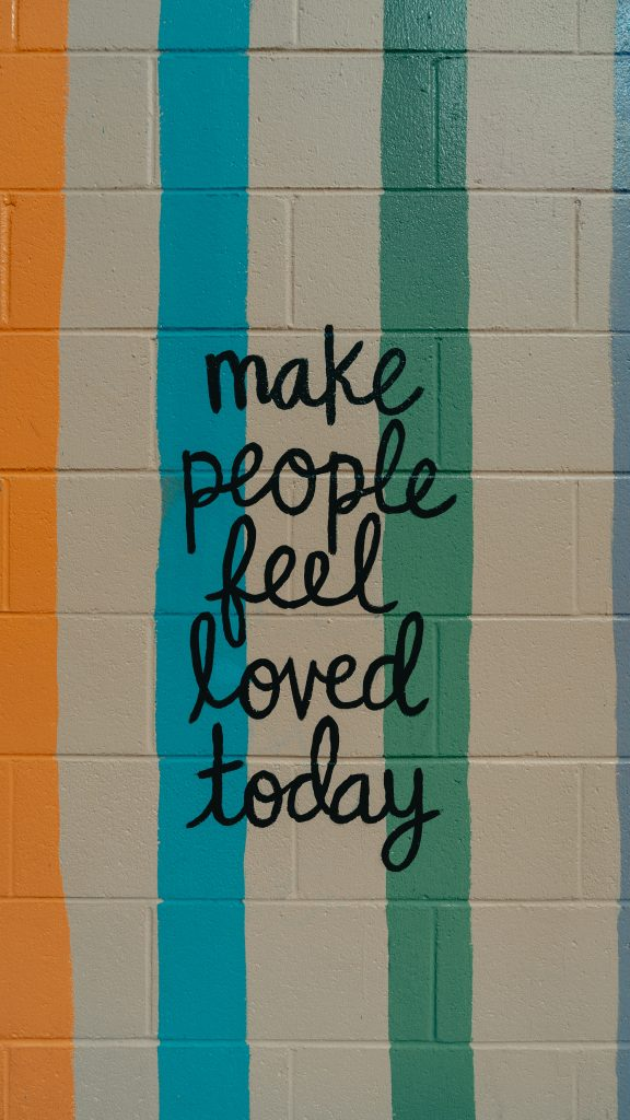 """Be gracious in defeat to """"make people feel loved today"""""""